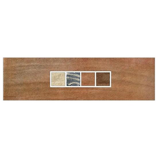 Listwa gresowa Real Cotto orange techno 29,7x8,8 Real Cotto