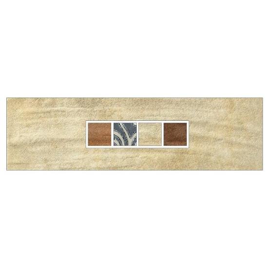 Listwa gresowa Real Cotto krem techno 29,7x8,8