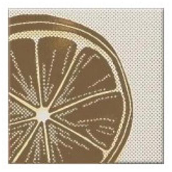 Płytka ścienna centro Inwencja lemonka 10x10