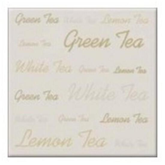 Płytka ścienna centro Aplauz tea biały 10x10