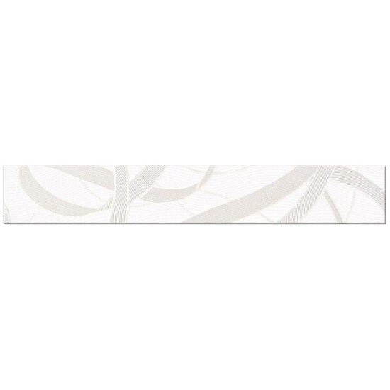 Płytka ścienna Alva biała 45x7