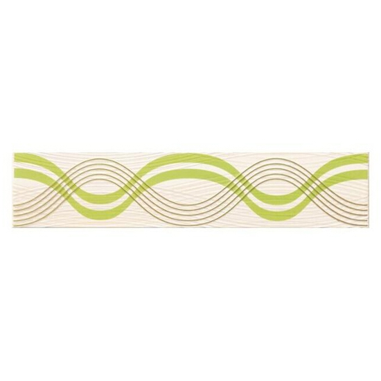 Płytka ścienna Felina verde listwa 8,5x40
