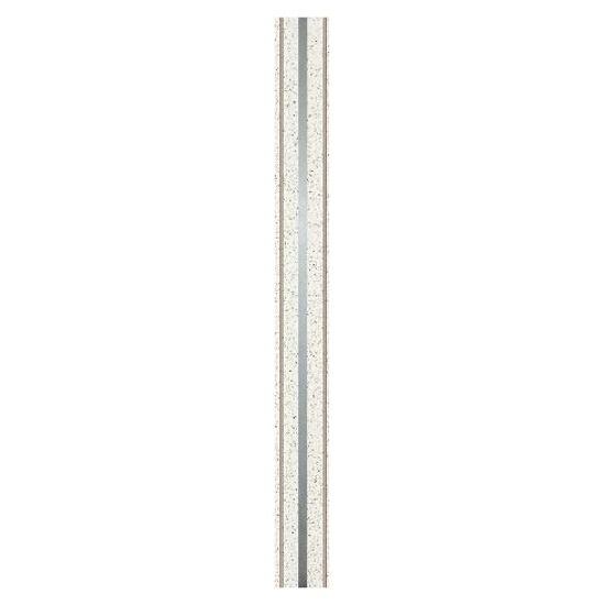 Listwa gresowa Mika bianco metal 5,5x59,8