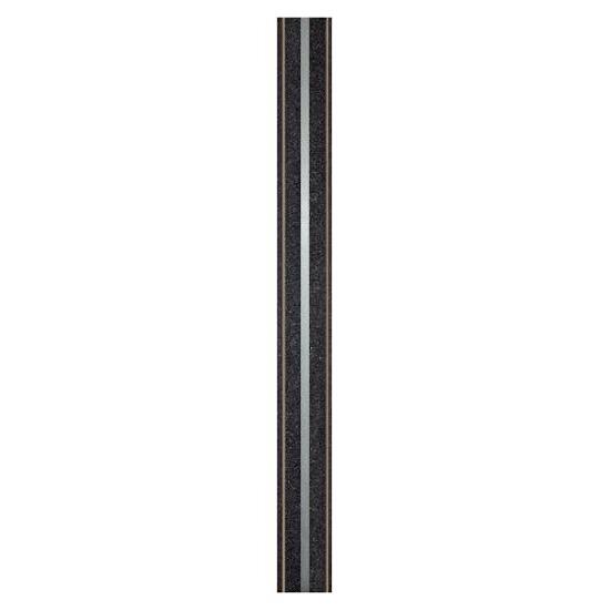Listwa gresowa Mika nero metal 5,5x59,8