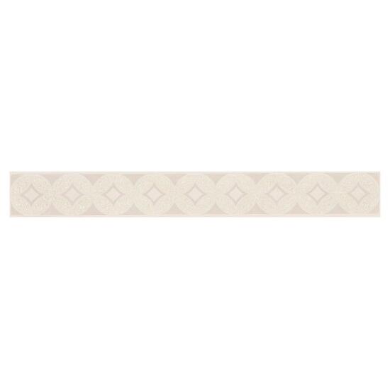 Płytka ścienna Arvena max bianco listwa 5x40