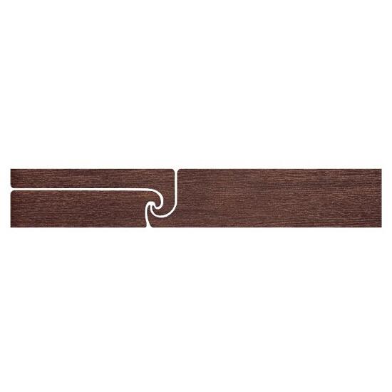 Listwa gresowa Ancona brown fala 9,6x59,3