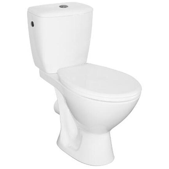 Kompakt WC KASKADA 3/6L odpływ poziomy z deską polipropylenową K100-206