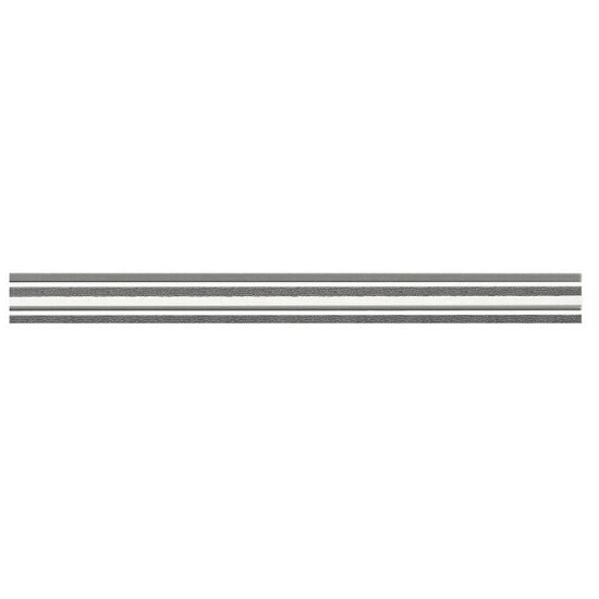 Płytka ścienna Werbena grafit listwa 4,8x45