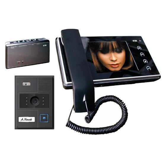 Videodomofon kolorowy VDP-05A6 Jupiter z możliwością podłączenia do telefonu Eura-Tech