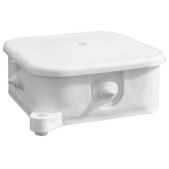Puszka instalacyjna odgałęźnik 4 wylotowy 5x2,5mm2 biały Elektro-plast N.