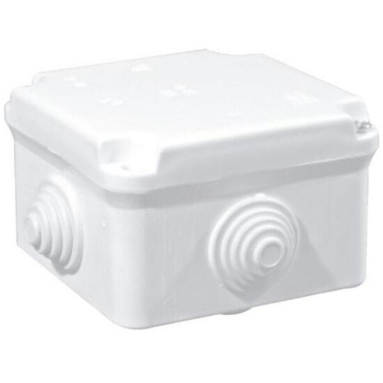 Puszka instalacyjna odgałęźnik EP-LUX 4 wylotowy 5x2,5mm2 PK-0 biały Elektro-plast N.
