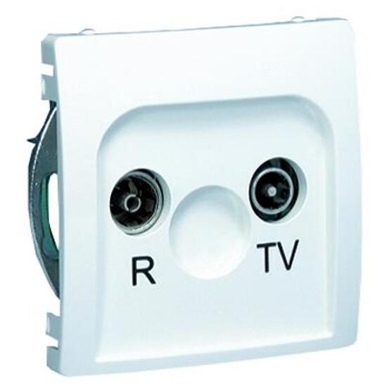 Gniazdo modułowe Basic anten. RTV końcowe BMZAR1/1.01/11 biały Kontakt Simon