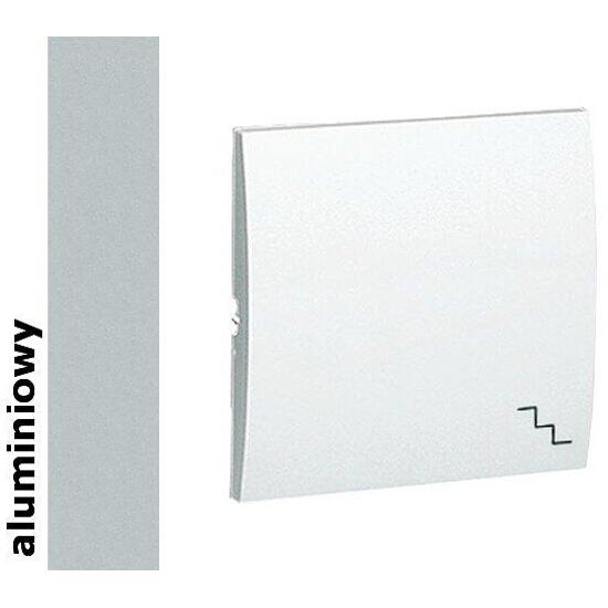 Klawisz Classic do wył. schodowego MKW6/26 aluminium srebrny Kontakt Simon