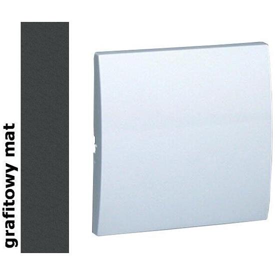 Klawisz Classic do wył. jednobiegunowego MKW1/28 matowy grafit Kontakt Simon