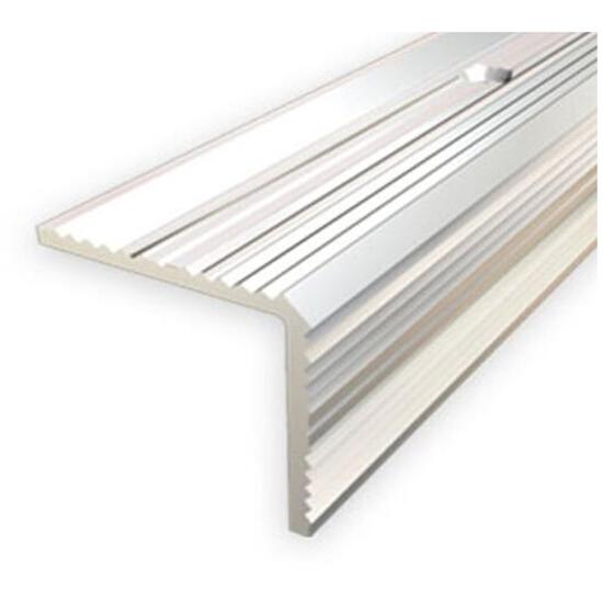 Listwa schodowa 20x20 ALU srebro 01 dł. 0,9m 1-07696-01-090 Aspro