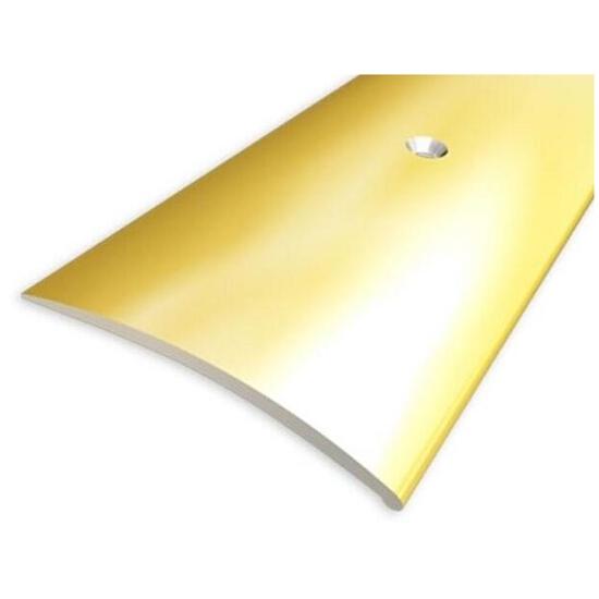 Listwa wyrównująca 49mm ALU złoto 03 dł. 1,8m 1-07697-03-180 Aspro