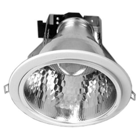 Oprawa downlight z odbłyśnikiem R-6000 biała Brilum