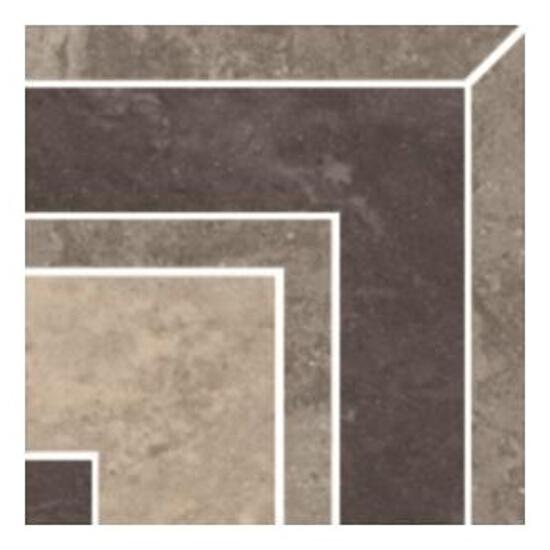 Narożnik gresowy Mistral Grys 9,8x9,8 Paradyż