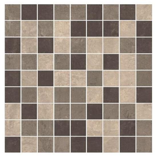 Mozaika Mistral Grys mix satyna 30x30 Paradyż