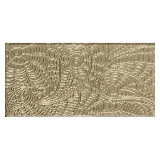 Płytka ścienna Ricoletta Beige inserto szklane 29,5x59,5 Paradyż
