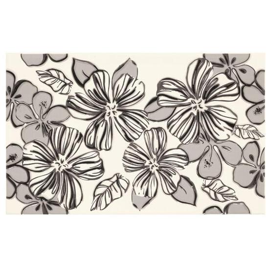 Płytka ścienna Vivian Bianco inserto Kwiat 25x40 Paradyż