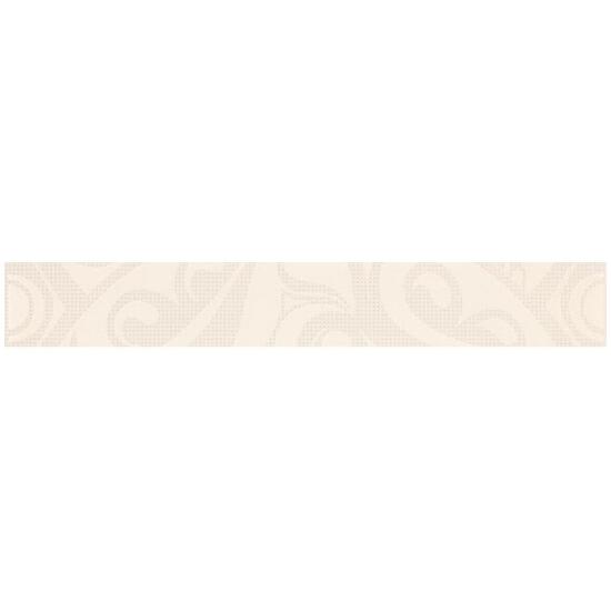 Płytka ścienna Optica white border circles 5x35