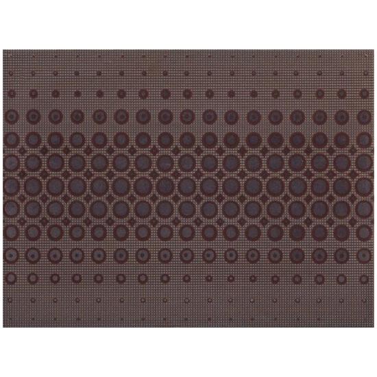 Płytka ścienna Optica brown inserto modern 25x35