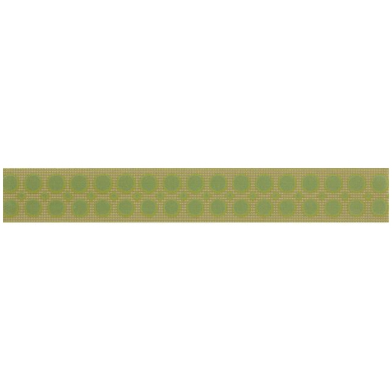 Płytka ścienna Optica green border modern 5x35