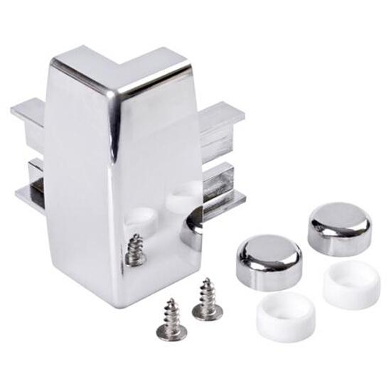 Narożnik do kabin prysznicowych typ 5 chrom S900-2334