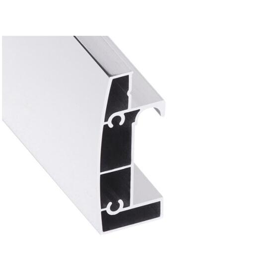 Prowadnica prawa kabiny kwadratowej Toscana 80 chrom S900-2395