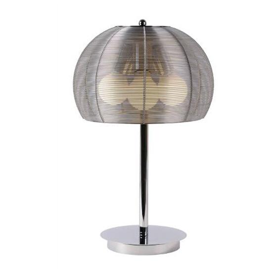 Lampa stołowa Newport 3x60W E27 chrom satyna 38501/30/12 Lucide