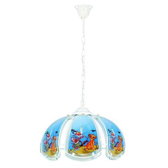 Lampa sufitowa dziecięca BAJKA 1xE27 60W 673 Alfa