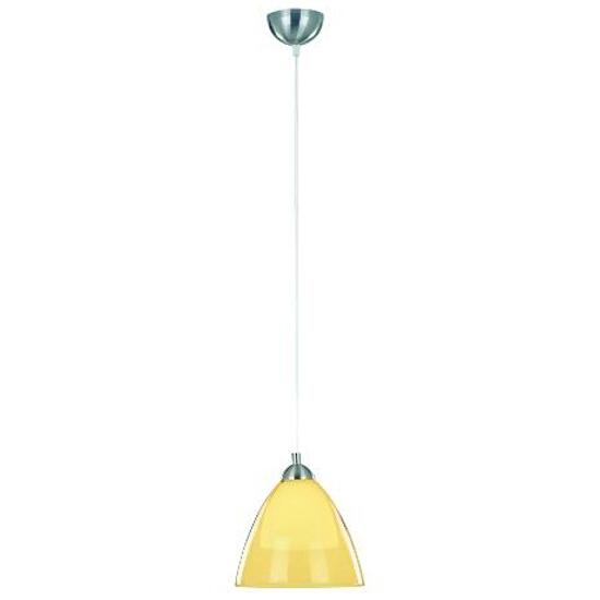 Lampa wisząca EDO 1xE27 60W żółta 10187 Alfa