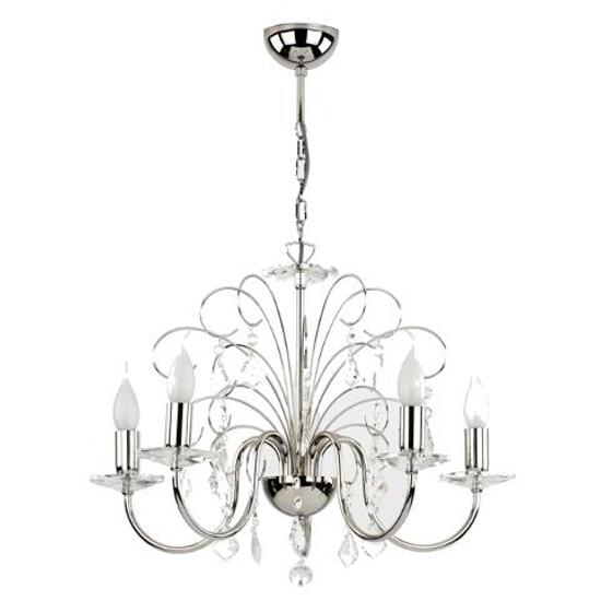 Lampa wisząca Palmira 5xE14 40W 12405 Alfa