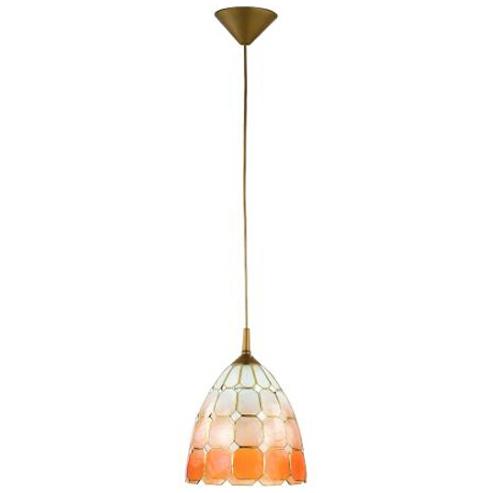 Lampa wisząca CAMPANA 1xE27 60W 12645 Alfa