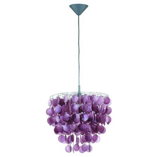 Lampa wisząca CONCHA 1xE27 60W 12671 Alfa