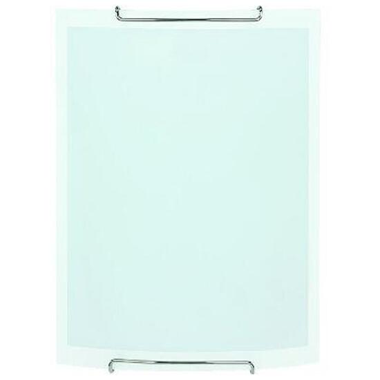 Kinkiet WHITE 1xE27 60W 90351 biały, srebrny Alfa