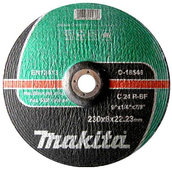 Tarcza ścierna Flex 230x5x22,2mm do betonu D-18546 Makita