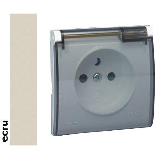 Pokrywa gniazda Classic z/u IP44 MGZ1BP/10a ecru Kontakt Simon