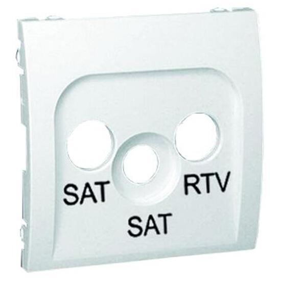 Pokrywa gniazda Classic RTV/SAT/SAT MAS2P/11 biały Kontakt Simon