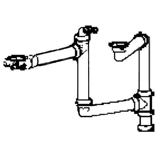 Kształtka łącząca 2 komory do Planar PPX 610-58 PPX 610-44 Franke