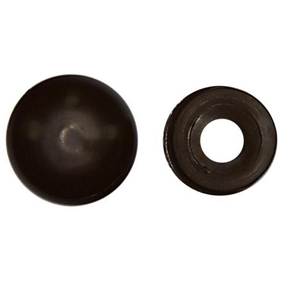 Rozeta mała do maskowania wkrętów ROZ D 100szt. kolor czarny Benox