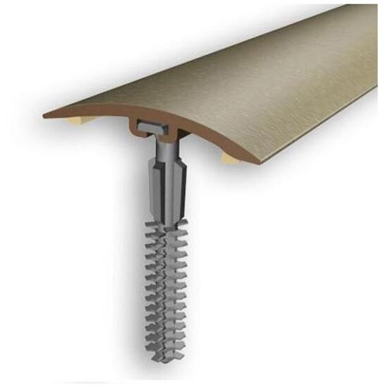 Listwa wyrównująca 42mm PVC złoto 03 dł. 2m D-P0200-03-200 Myck