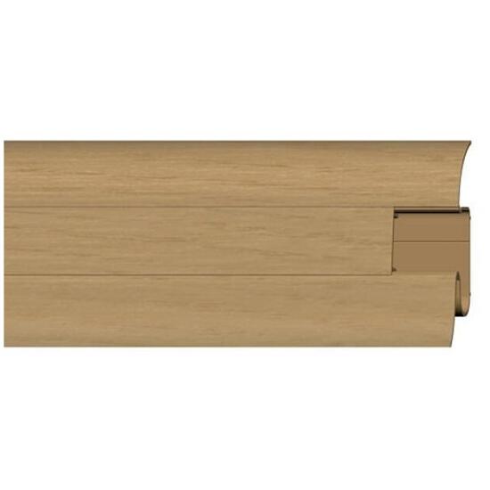 Listwa przypodłogowa 54 PVC dąb n3 G0 dł. 2,5m A-PLCOX-G0-250 Prexa