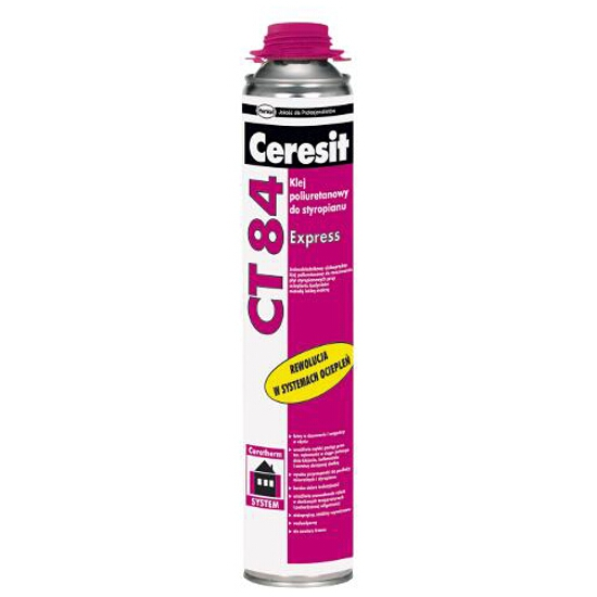 Klej do styropianu Ceresit CT 84 EXPRESS 850ml