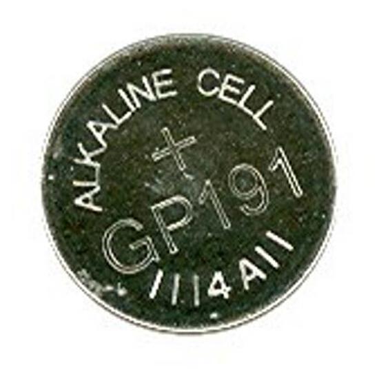 Bateria pastylkowa alkaliczna; AG8LR55; 1.5V list 10 szt. GP Battery