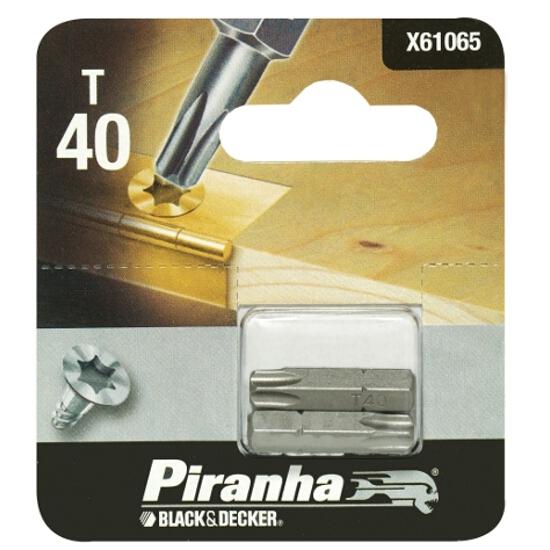 Końcówka wkrętakowa T35/25 2szt. Piranha