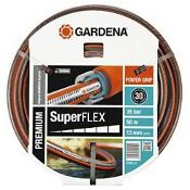 """Wąż ogrodowy Premium SuperFlex 1/2"""" 50 m 18099-20 Gardena"""