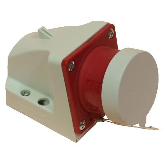 Wtyczka stała z klapką 16A 400V 3P+Z PCE