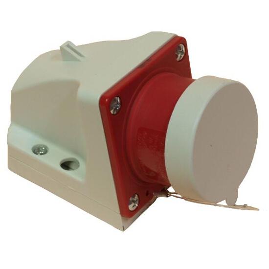 Wtyczka stała z klapką 16A 400V 3P+Z+N PCE